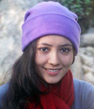 100% Cashmere Pashmina Hat 5