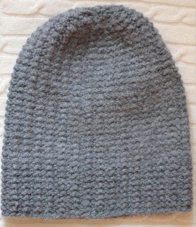Hand Knit Vintage Cashmere beanie hat