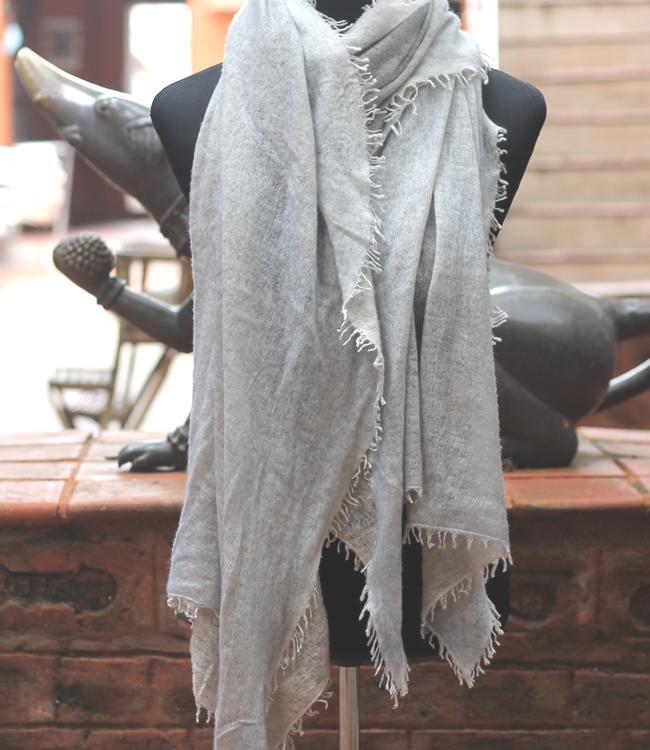 Felted Knitwear Cashmere Shawl/Wrap