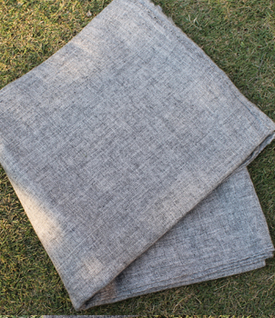 Light Grey Colour Natural Shawl