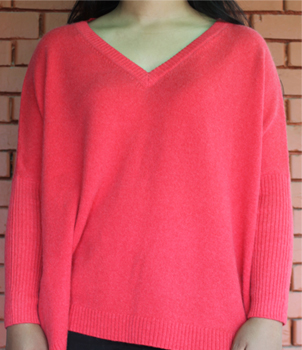 V-Neck-Poncho-Style-Sweater