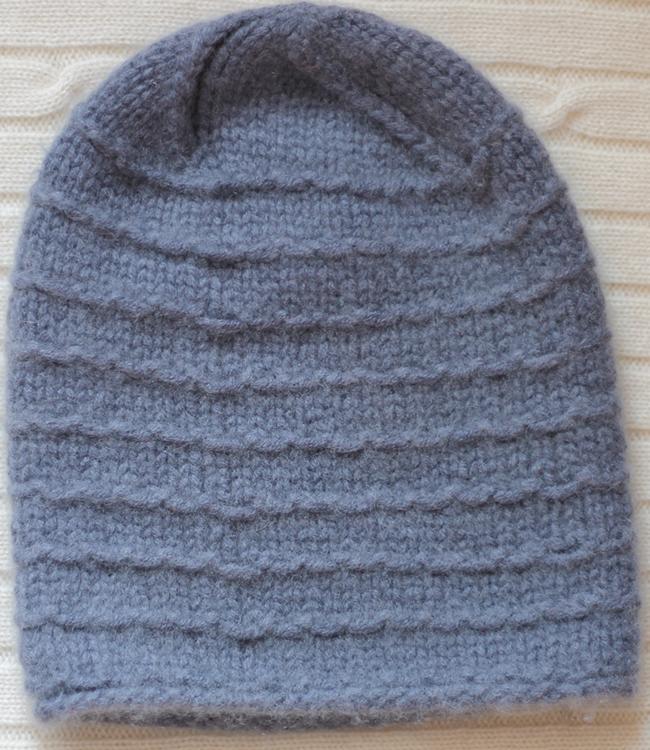 Vintage Knit Cashmere beanie hat