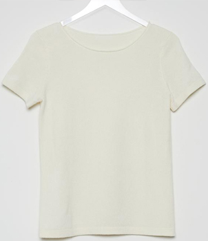 Cashmere Short Sleeve Sweater