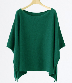 T-shirt Design Cashmere Poncho