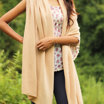 100% Cashmere Travel Wrap