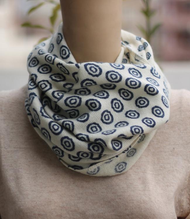 Chakra Printed infinity scarf