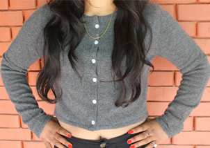 Cashmere Mini Cardigan for women