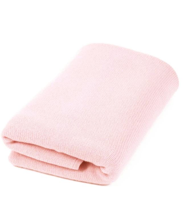 Plain Knit Cashmere Blanket