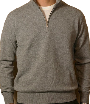 Cashmere polo neck mens Jumper/Sweater