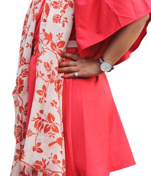 Floral Print Pashmina Shawls