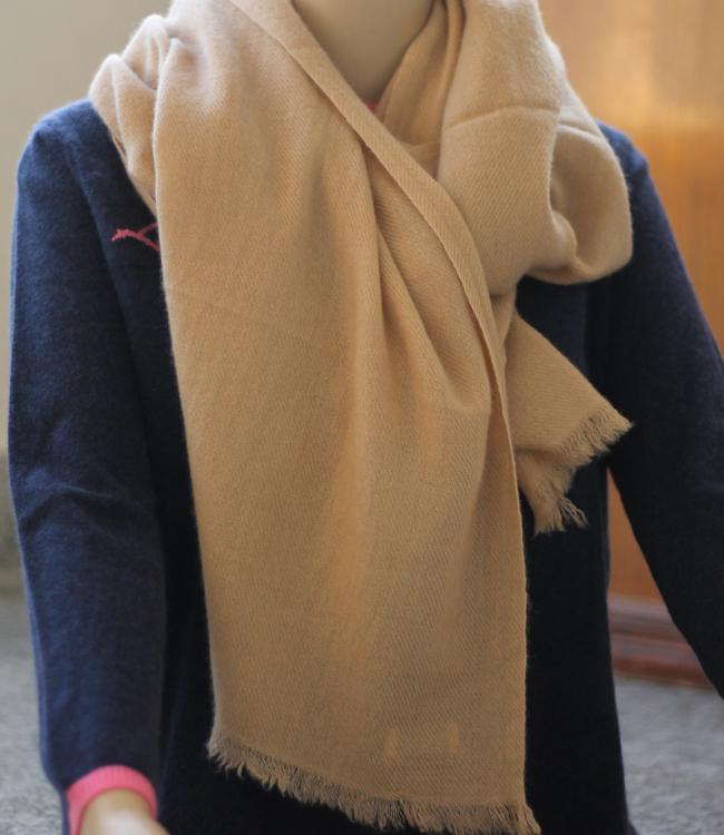 100% Pure Cashmere Pashmina Shawl - Woven