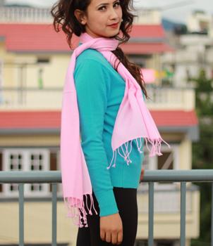 100% Pashmina(cashmere) scarf