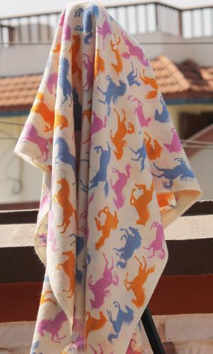 Horse Style Printed Shawl