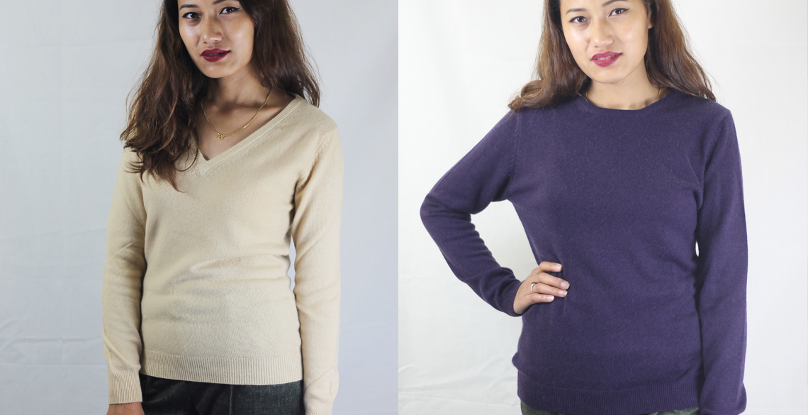 Cashmere Basic Sweaters